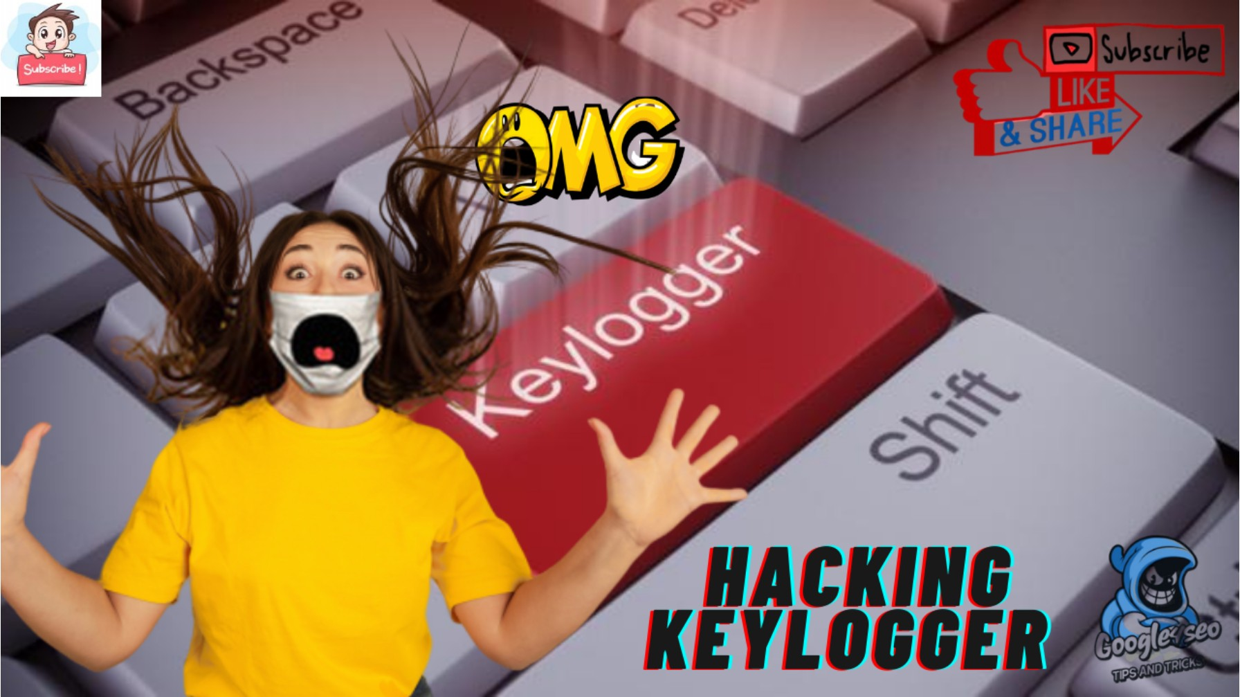 Keylogger System- Tracking Your Keyboard Activity l Password Leak Details Explained🔥🔥